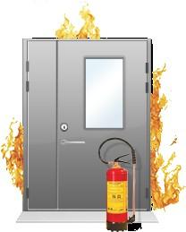 Противопожарные двери EI60.